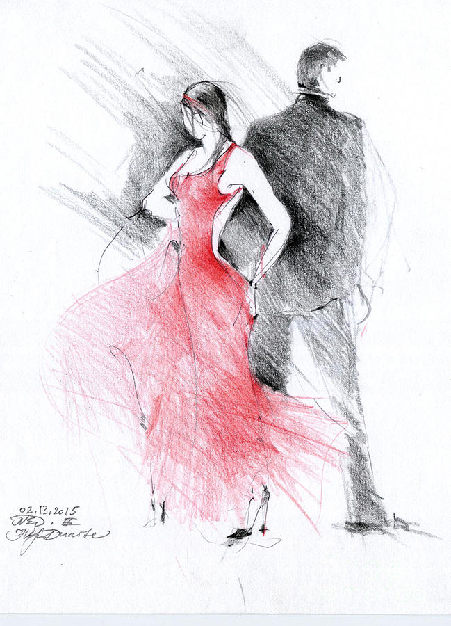 picture free . Tango drawing