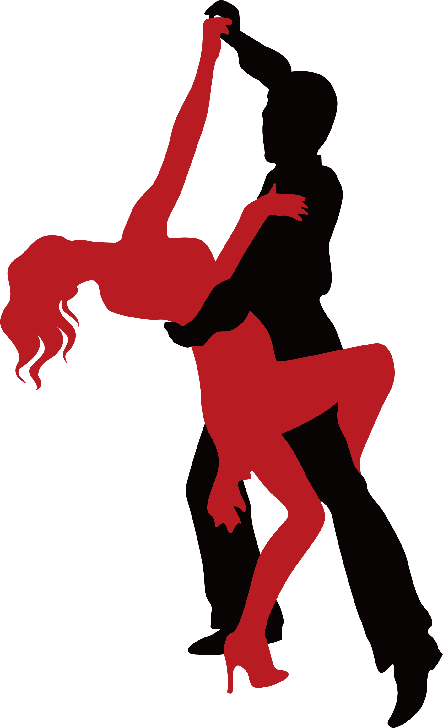 clipart library library Ballroom dance illustration free. Tango drawing easy