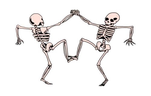 png freeuse download Dance tattoo tumblr design. Tango drawing skeleton