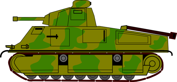 royalty free download Military Tank Clip Art at Clker
