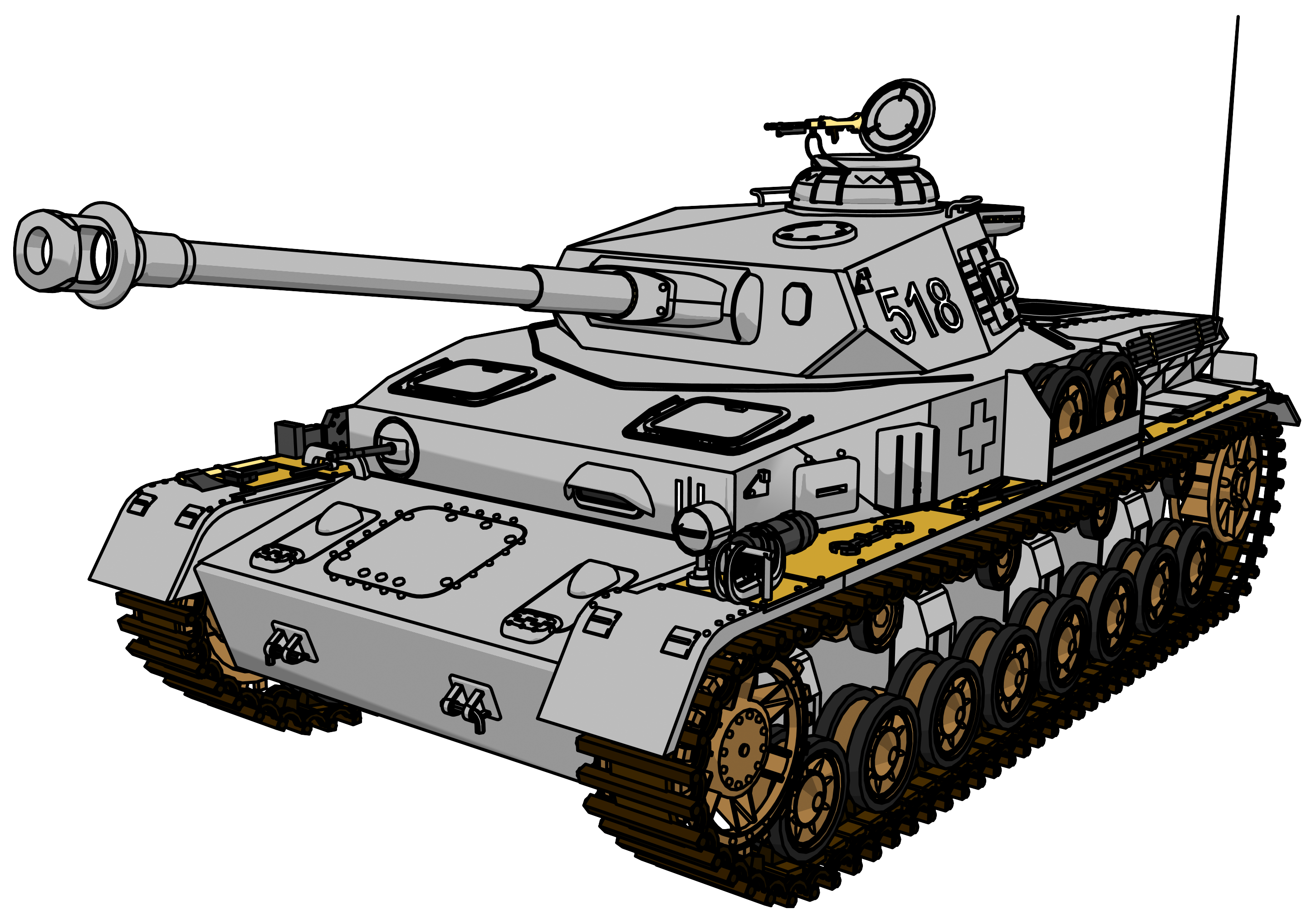 banner freeuse Tank clipart. Panzer png picture clipartly