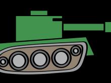 picture stock Tank clipart. Cartoon image simple google