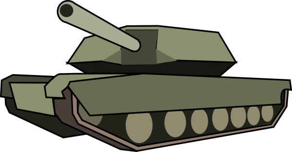 banner freeuse library Army tank clipart. Clip art at clker.
