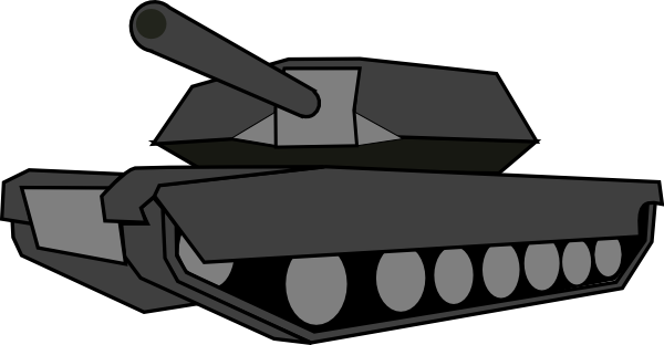 vector black and white Tank clipart black and white. Clip art at clker