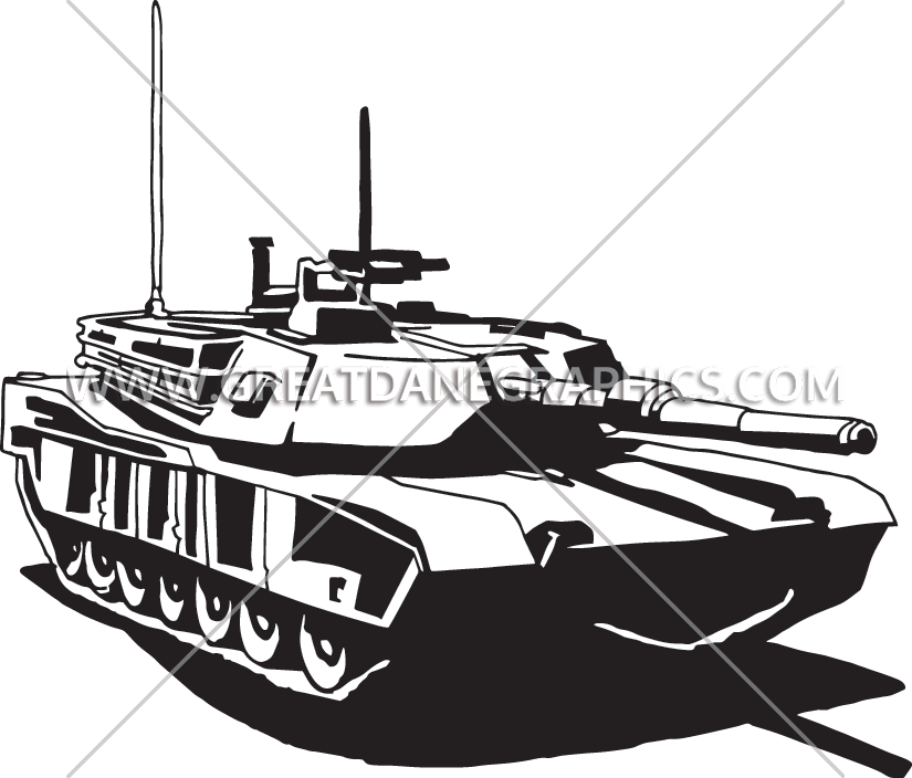 image free Desert production ready artwork. Tank clipart black and white