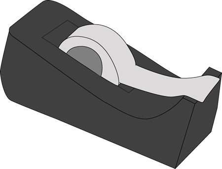 png library download Tape Dispenser Clipart