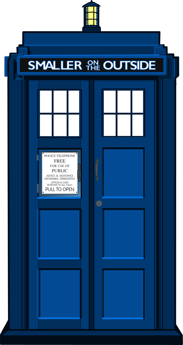 jpg library library Tardis clipart clip art. Doctor who drawing at.