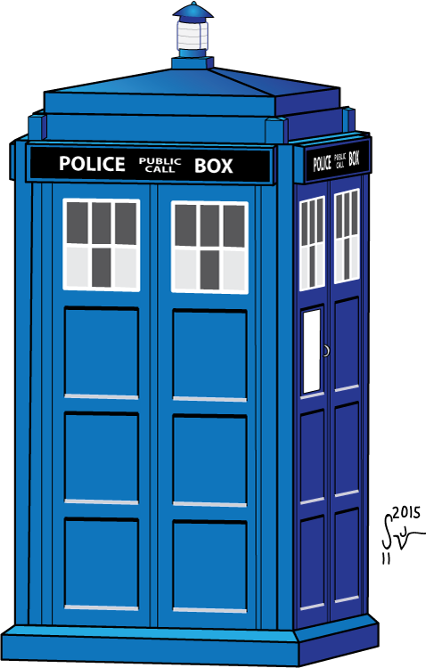 clip royalty free stock Doctor Who Tardis Drawing at GetDrawings
