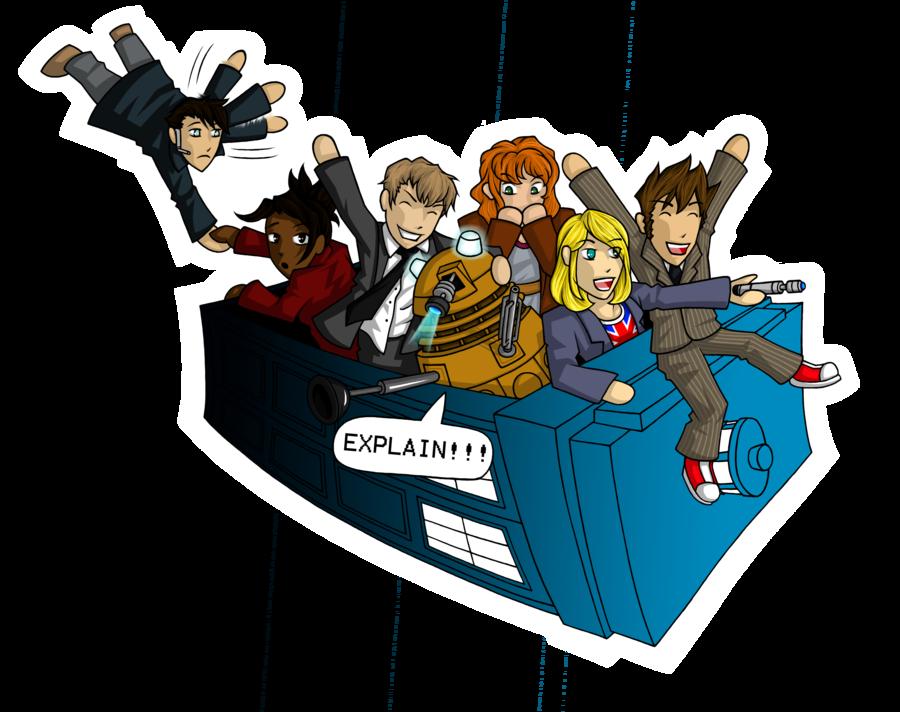 clip art freeuse library TARDIS Adventure Time by Jagarnot on DeviantArt