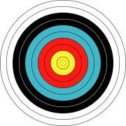 transparent target drawing archery #104544727