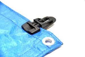 jpg freeuse Accessories tacl in situ. Tarp clip.