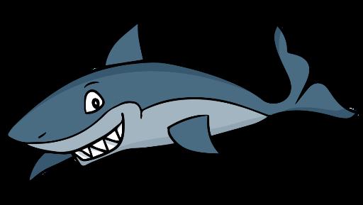 svg freeuse library Mako The Friendly Shark