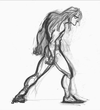 picture library library Concept art of Tarzan from Disney
