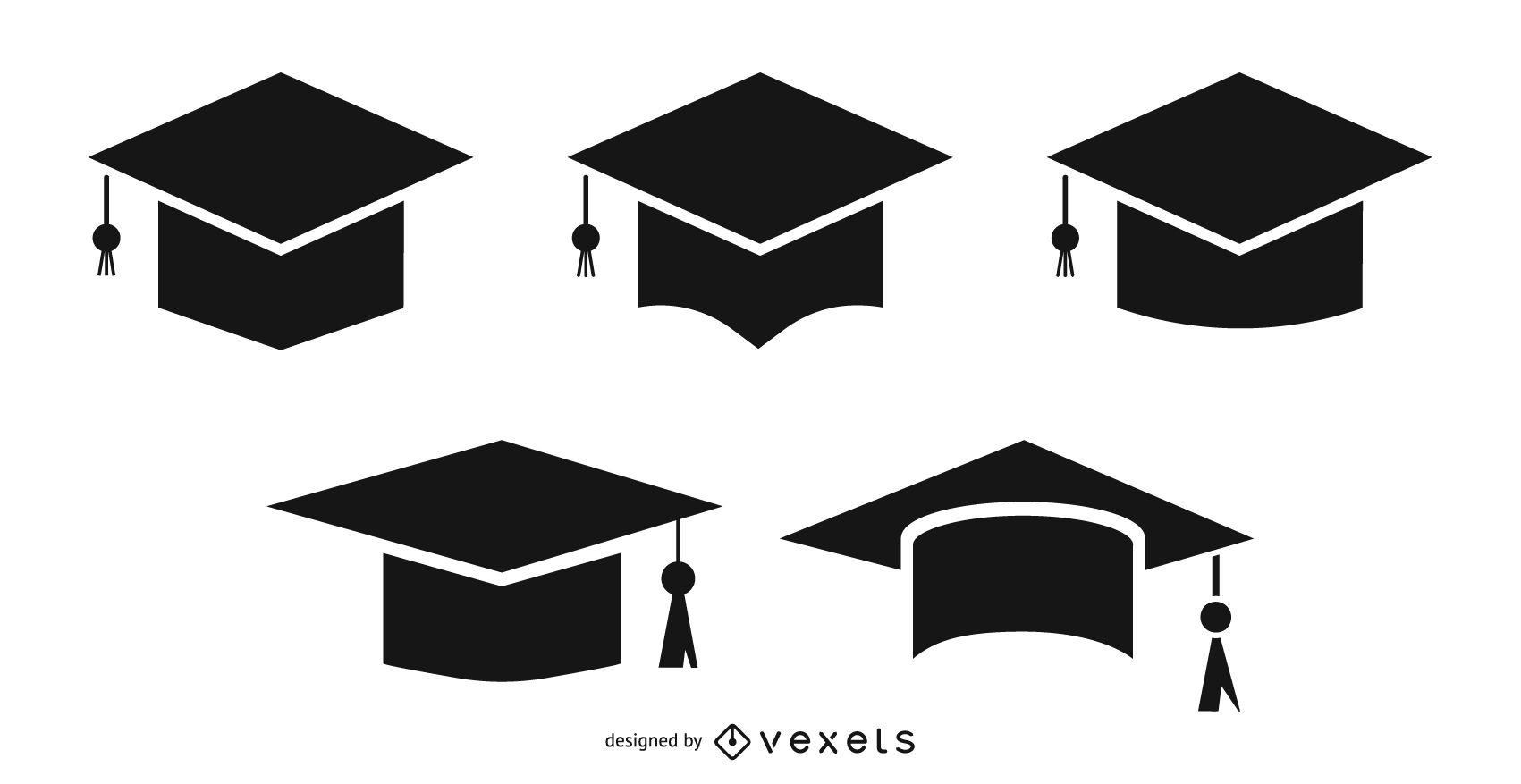 picture free stock Graduation Cap and Tassel set