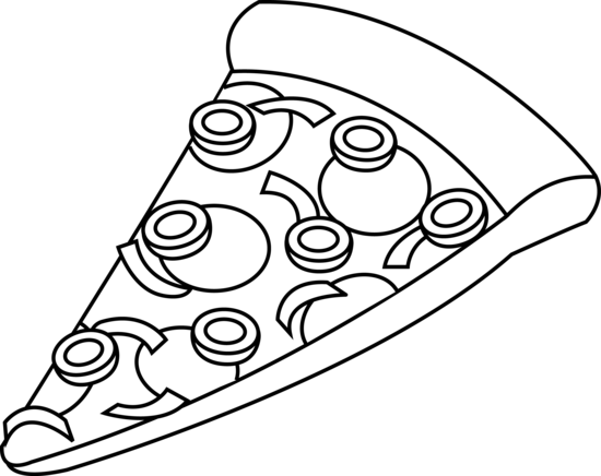 png library library PNG Pizza Black And White Transparent Pizza Black And White
