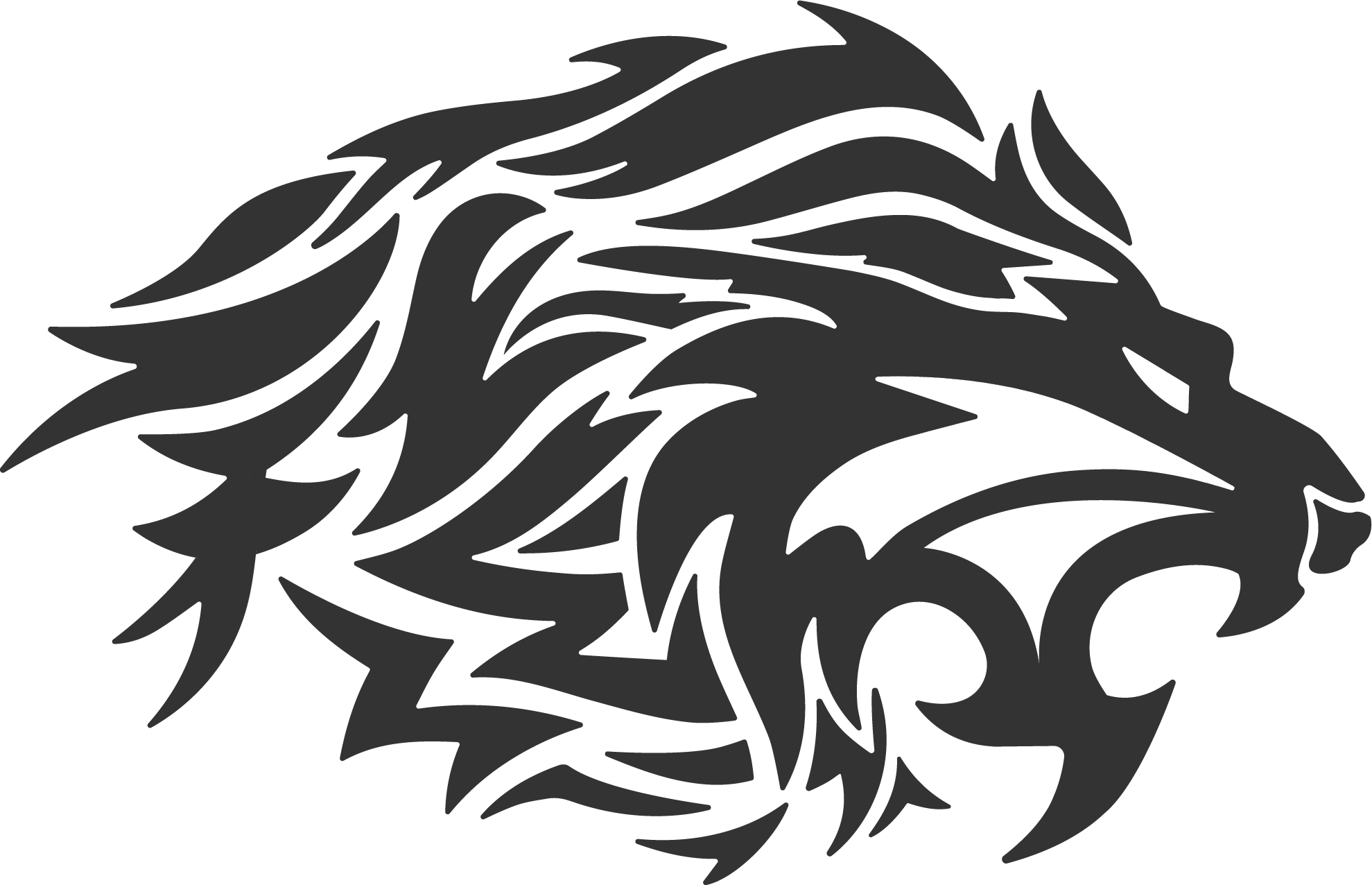 banner transparent download Lion free on dumielauxepices. Tattoo clipart
