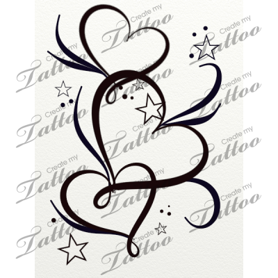 picture download Marketplace Tattoo hearts stars and filigree
