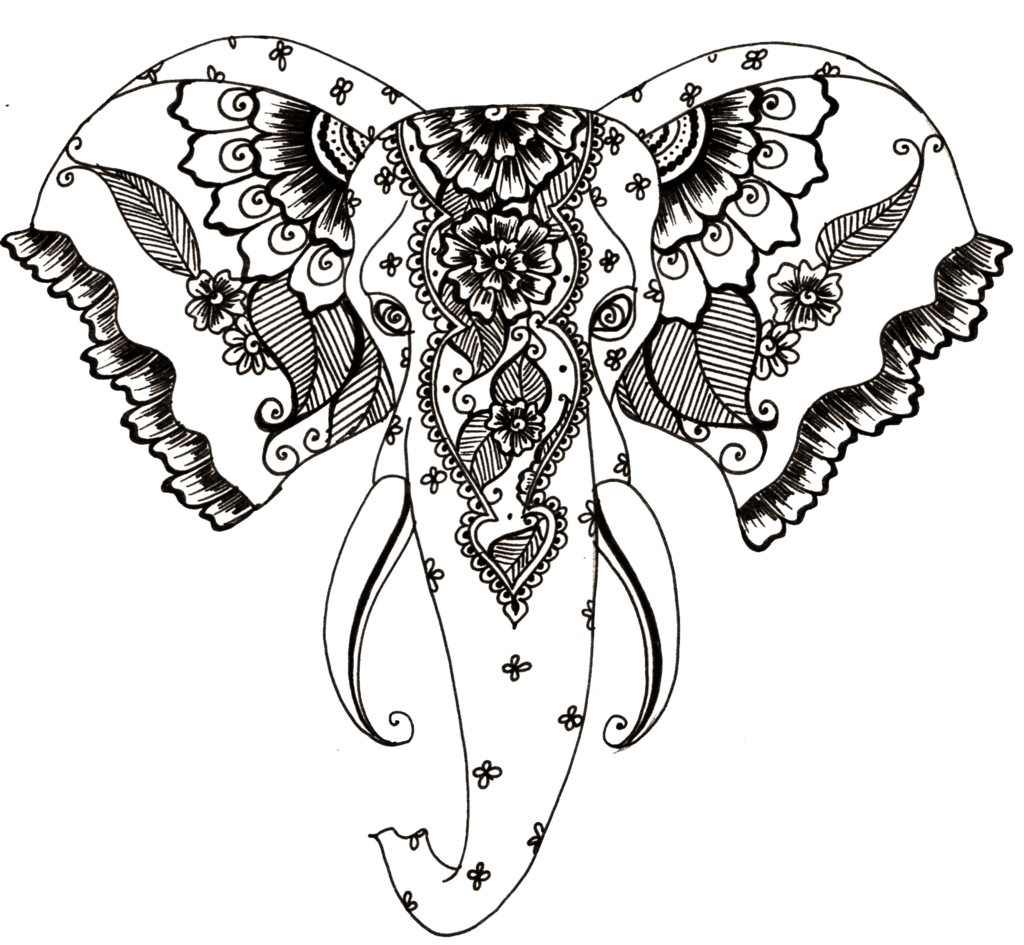 picture free Elephant Tattoo Drawing at GetDrawings