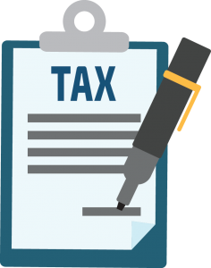 banner free download Taxes clipart. Tax form free on