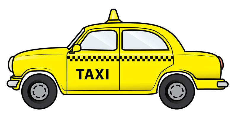picture library Taxi Cab Clipart