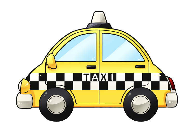 vector freeuse Free Taxi Cliparts