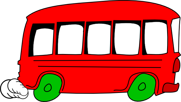 banner library library School Bus Vehicle Clip Art at Clker