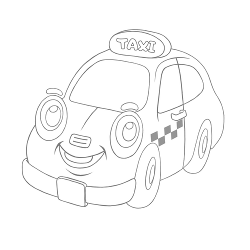 jpg black and white stock Taxi drawing. Cars and airplanes how.