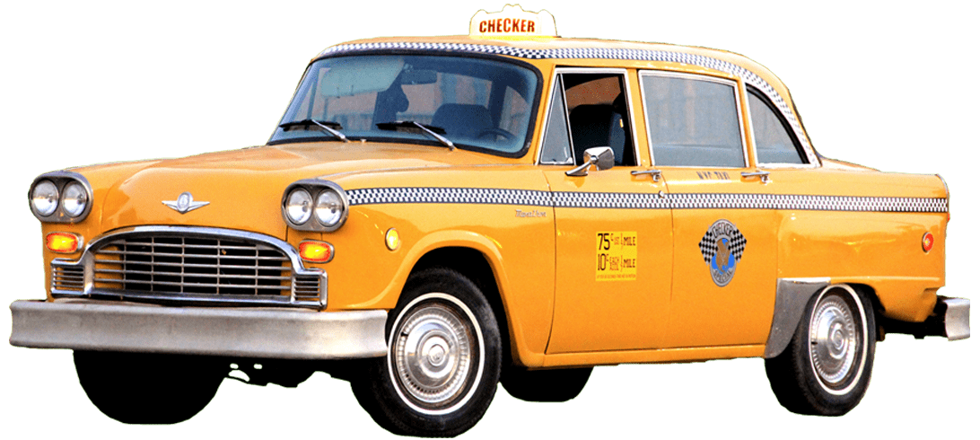 svg royalty free library Yellow Taxi PNG