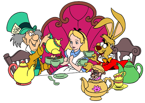 svg freeuse Tea party cartoon png. Alice in wonderland teacup clipart