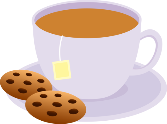svg freeuse library Cup of with chocolate. Tea clipart