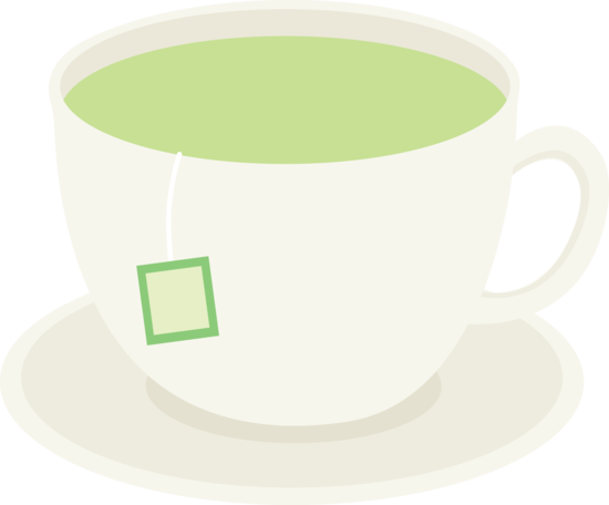 banner freeuse Cup of healthy green. Free teacup clipart