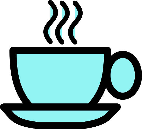 png library stock Blue Tea Cup Clip Art at Clker