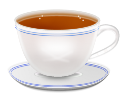vector freeuse download Isolated Photos of cup of tea