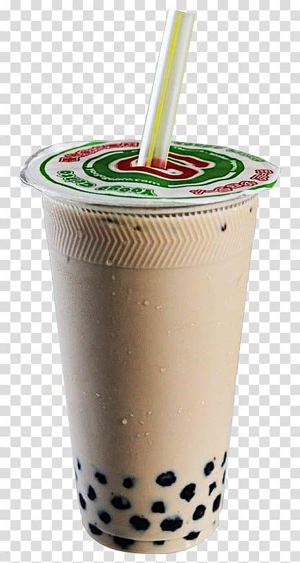 banner free stock Taiwanese cuisine smoothie milk. Tea transparent bubble
