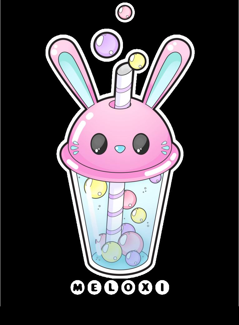 clipart transparent download Bunny bubble tea by Meloxi on DeviantArt