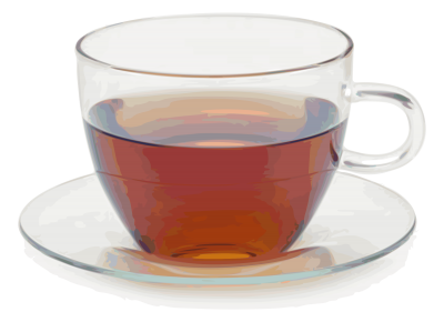 vector royalty free stock Isolated Photos of cup of tea
