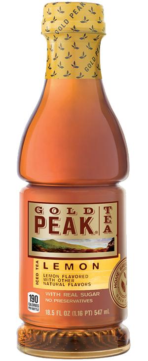 clip black and white Gold Peak Lemon Tea