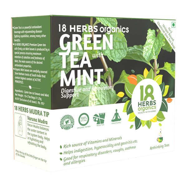 jpg free library Buy Organic Green Tea With Mint Leaves