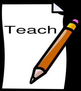 banner royalty free stock Teach clipart. Clip art at clker
