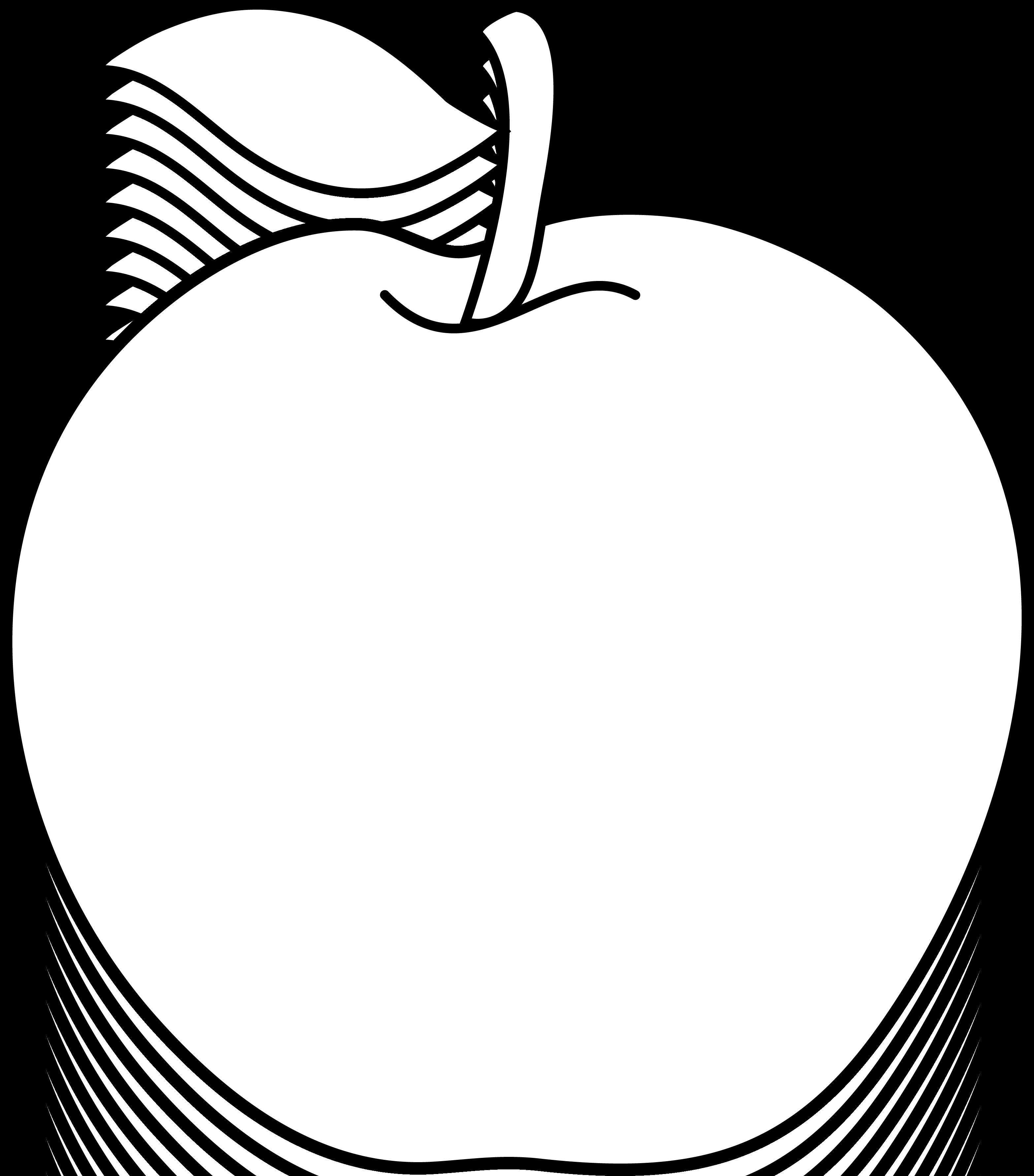 clip art stock Teacher apple clipart black. Vector apples teachers