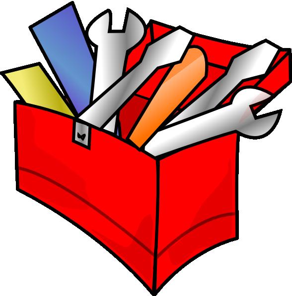 vector stock Tool Box Clipart