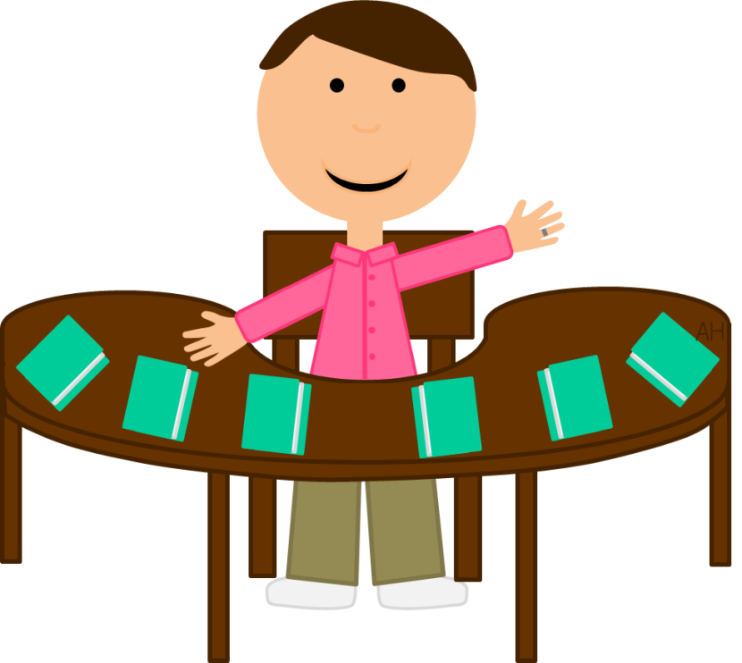 clip art library download Teacher reading to students clipart.  collection of table