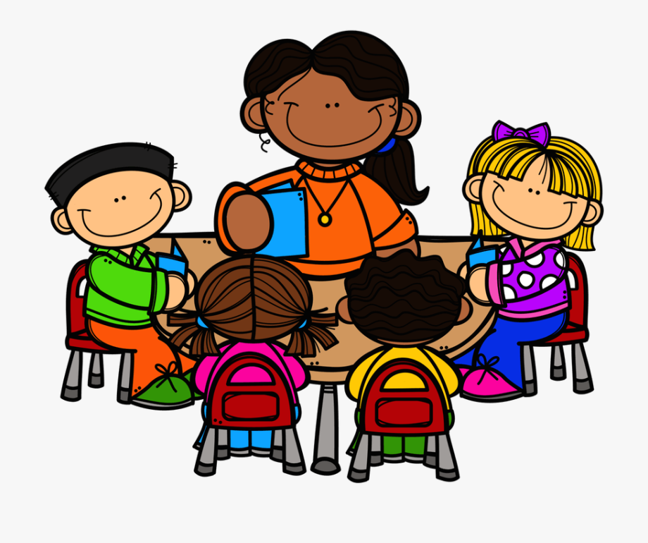 png freeuse library Teacher table cliparts and. Students learning clipart