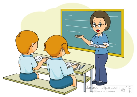 jpg freeuse library Teacher teaching students clipart. Station