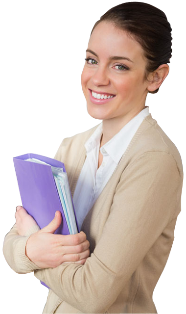 graphic royalty free library A young female holding. Teacher transparent background.
