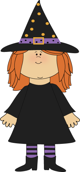 picture HALLOWEEN WITCH CLIP ART