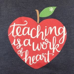 picture library Clip art library . Teaching is a work of heart clipart.