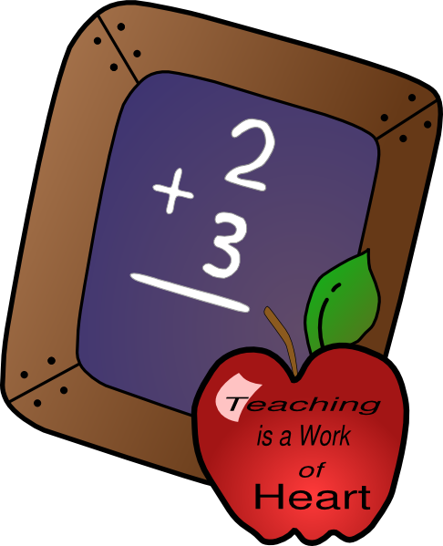 graphic library stock The clip art at. Teaching is a work of heart clipart