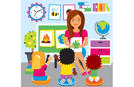 clipart royalty free library Teaching strategies clipart. Teacher for elementary classroom