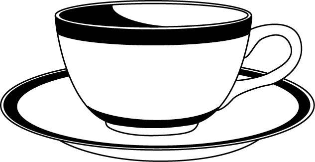 svg library download Teacup and saucer clipart. Free cliparts download clip